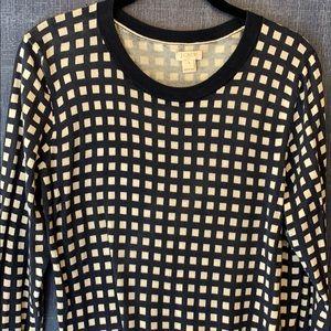 Women's sweaters JCrew graphic M
